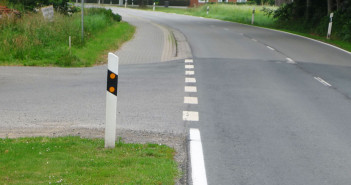 Radweg-Ende Neuenmarhorst