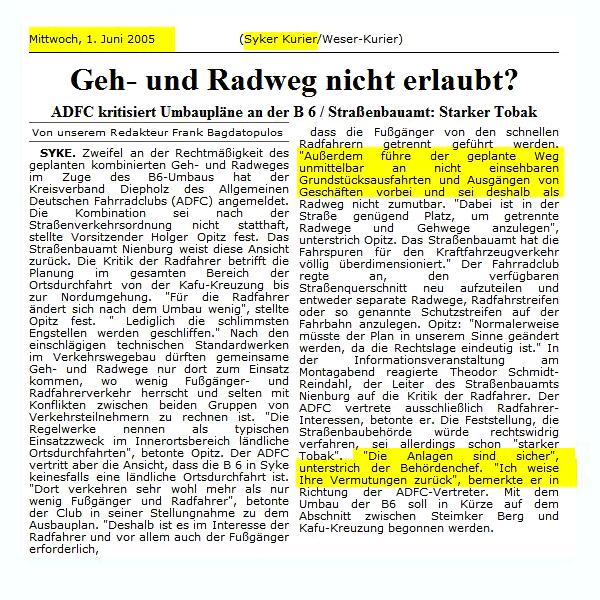 B6 Syke 06-2005 Syker Kurier