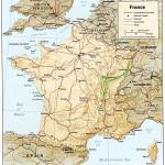 Strecke in Frankreich