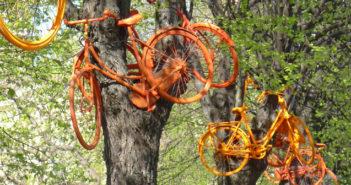 Fahrrad-Kunst (Riga)