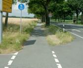 B 51 wird dreispurig: Radfahrer werden ausgesperrt
