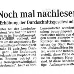 Leserbrief, Regionale Rundschau