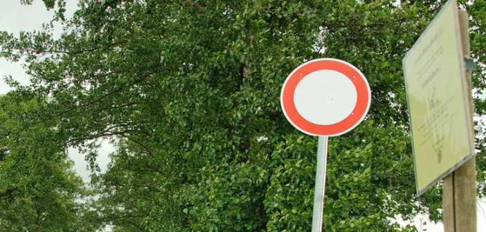 Diepholz: Durchfahrt verboten