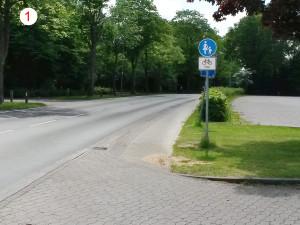 Barnstorf L 344 Ende Radweg