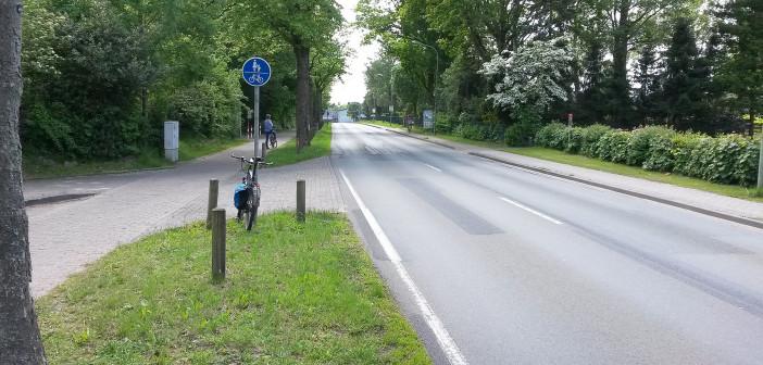 Barnstorf L 344 linker Radweg