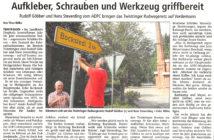 Schilderpaten in Twistringen — Kreiszeitung