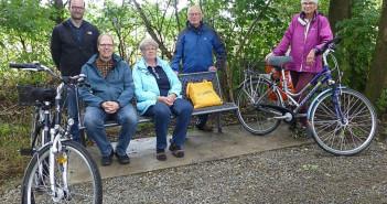 Rastplatz für Radfahrer, Pilgerroute