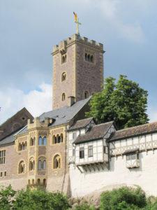 Die Wartburg bei Eisenach