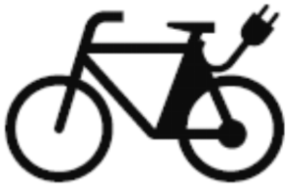 Sinnbild E-Bikes