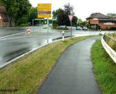Radweg-Sanierung an der B6 bei Asendorf