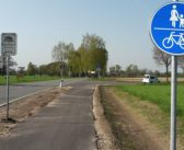 Aprilscherz: 50 Meter Radweg – rauf und wieder runter