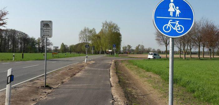 56 Meter Radweg