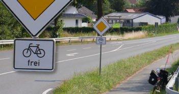 """""""Vorfahrt – Radfahrer frei"""" – Grüße aus Schilda"""