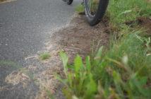 Warum Gras auf Radwegen wächst