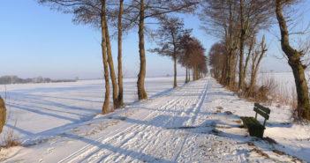 keine Radtouren im Winter