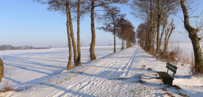 Keine Radtouren in der Winterzeit…..