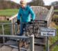massive Stahlschranken versperren den Weg