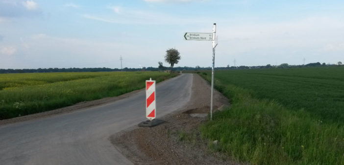 Radverbindung Weyhe-Bremen: ein paar Meter fehl(t)en