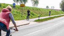 Querungsstelle am Radweg-Beginn erforderlich