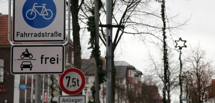 Lange Strasse Sulingen, Fahrradstrasse