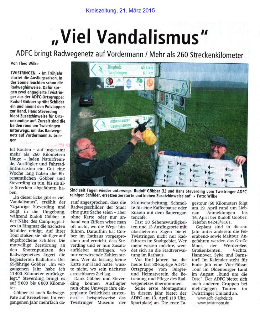Schilderpaten (c) Kreiszeitung