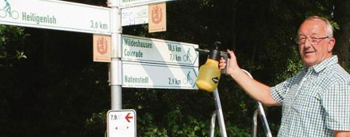 Radwege-Paten im Kreis Diepholz